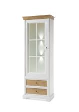 Obývací a jídelní nábytek PALLADIUM_vitrina 12_volitelné LED osvětlení_obr. 9
