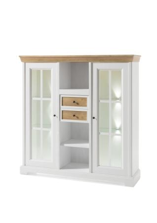 Obývací a jídelní nábytek PALLADIUM_highboard 48_volitelné LED osvětlení_obr. 14
