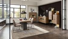 Obývací a jídelní nábytek RICHMOND_ukázka interierového řešení_jídelna_obr. 2