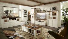Obývací a jídelní nábytek TOULON_ sestava 40 94 UV 81 + sideboard 21 + závěsné zrcadlo 50 + konferenční stůl 20 94 UV 02_ obr. 01