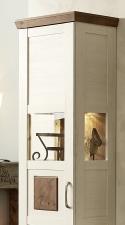 Obývací a jídelní nábytek TOULON_ detail bočního prosklení u vitrin_ obr. 08