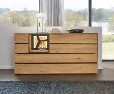 Obývací a jídelní nábytek VALERO_ sideboard 169104 _ čelní pohled_ obr. 9