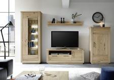 Obývací sestava VALLETTA 40 52 56_100% dubový masiv_LED osvětlení jako volitelné příslušenství_obr. 4