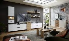Obývací sestava MOONLIGHT 10 H9 WH 83 + sideboard 20 + konferenční stůl 20 H9 WH 02_obr. 3