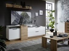Obývací nábytek MOONLIGHT wh_alternativní TV sestava B_obr. 10
