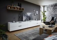 Obývací nábytek MOONLIGHT wh_alternativní TV sestava E_obr. 13