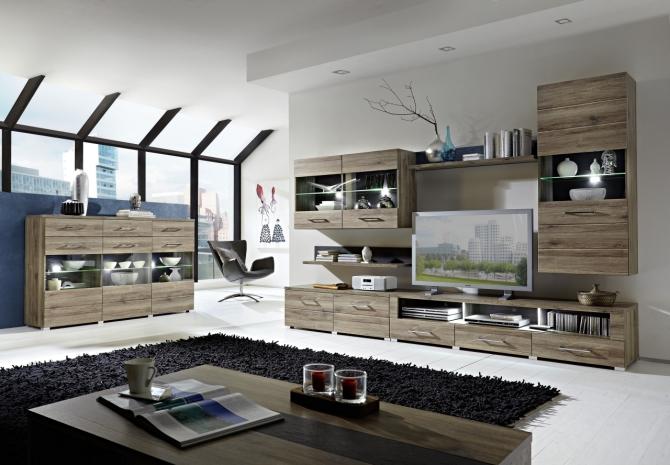 Obývacia zostava + highboard + konf. stolík DEAL
