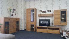 Obývací stěna OPAL 42 02 HH 81 + highboard 42 02 HH 22_ včetně LED osvětlení_ foto prodejna _obr. 1
