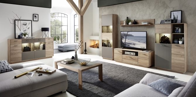 Obývacia zostava + sideboard + konf. stolík LAVA