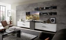 Obývací nábytek MOONLIGHT wg_alternativní TV sestava D_obr. 14