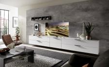Obývací nábytek MOONLIGHT wg_alternativní TV sestava E_obr. 15