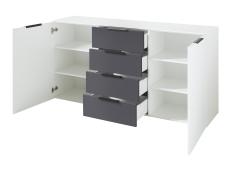 Sideboard MOONLIGHT 10 H9 WG 20_šikmý pohled_otevřený_obr. 29