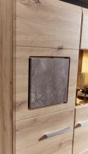 Obývací nábytek REZZO _detail dekorativní aplikace Caspio dunkel _obr. 11