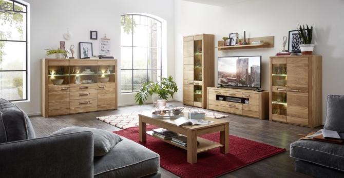 Obývacia stena + highboard NATURE TWO