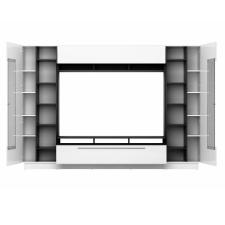 Obývací stěna DALTON_detail vnitřního policového uspořádání_obr. 5