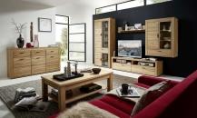 Obývací stěna OPAL  42 02 HH 81 + sideboard 42 02 HH 20 + konf. stůl  4 U 27 04 HH 02