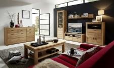 Obývací stěna OPAL  42 02 HH 80 + sideboard 42 02 HH 20 + konf. stůl  4 U 27 04 HH 02