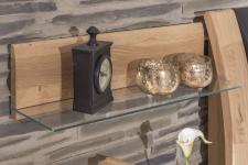 Závěsný panel se skleněnou policí OTTAWA_detail