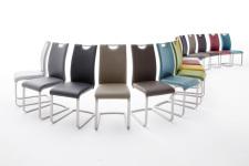 Jídelní židle PAMPA_barevné varianty_mix provedení_obr. 12
