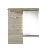 Předsíňový nábytek POWER_šatní panel se zrcadlem typ 41_obr. 15