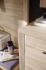 Předsíňový nábytek GIP_ detail přední plochy _obr. 4