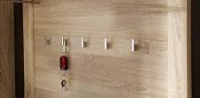 Předsíňový nábytek GIP_ detail šatního panelu _obr. 7