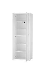 Předsíňový nábytek GIP white_ šatní skříň  30 15 WW 01 _ otevřená_ obr. 4