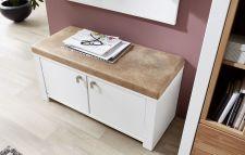 Předsíňový nábytek NIZZA_ detail lavice se sedacím polštářem_ obr. 7