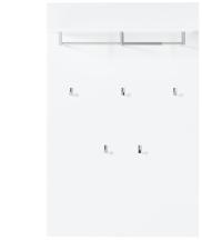 Závěsný panel na šaty QUICK  30 A8 WW 40_čelní pohled_obr. 14