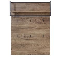 Předsíňový nábytek RICHMOND_ šatní panel 60 08 VV 40_ čelní pohled_ obr. 24