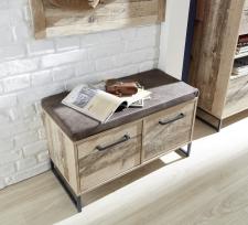 Předsíňový nábytek RIVER_detail lavice a sedacího polštáře_obr. 10