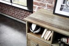 Předsíňový nábytek PROVENCE_detail horní desky_obr. 10