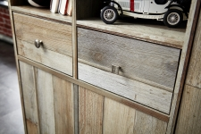 Předsíňový nábytek PROVENCE_detail předních ploch_obr. 11