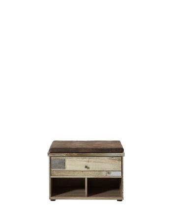 Předsíňový nábytek PROVENCE_lavice typ 60_čelní pohled_obr. 29