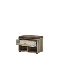 Předsíňový nábytek PROVENCE_lavice typ 60_otevřená_obr. 31