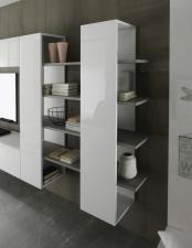 Obývací nábytek QUATTRO_regál typ 52_detail