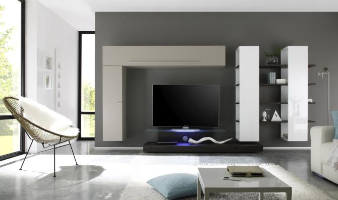 QUATTRO - obývacia stena