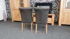 2 ks jídelní židle QUEEN, zadní pohled_obr. 3