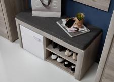 Předsíňový nábytek RIMA_detail lavice_obr. 5