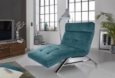 Relaxační lehátko RIMOLA s motorovým polohováním_v látce Square petrol_obr. 4