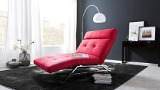 Relaxační lehátko RIMOLA MAXI s motorovým polohováním_v látce Deluxe red_obr. 10