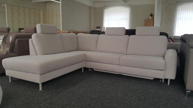 Rohová sedacia súprava s funkciou na spanie ELEGANZA 2901