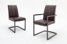Jídelní židle SAN DIEGO bez područky a s područkou_obr. 3
