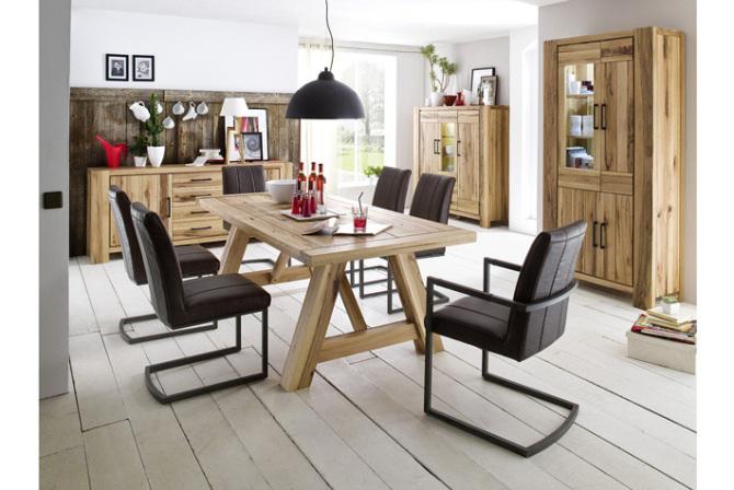 Jídelní židle SAN DIEGO s područkami v kombinaci_interier_obr. 1