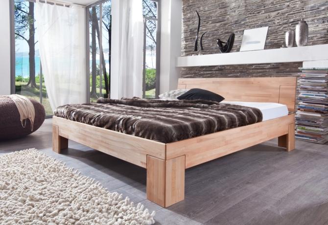 Celomasivní postel SARA_kořenový buk masiv_povrchová úprava olej_obr. 1