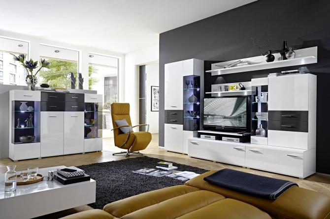 Obývací stěna SIMONE 4S 13 WW 80 + highboard_obr. 1