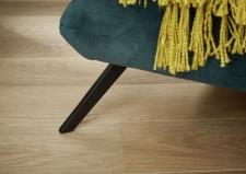 Longseat SIXTY_detail varianty nohou_kovové černé matové