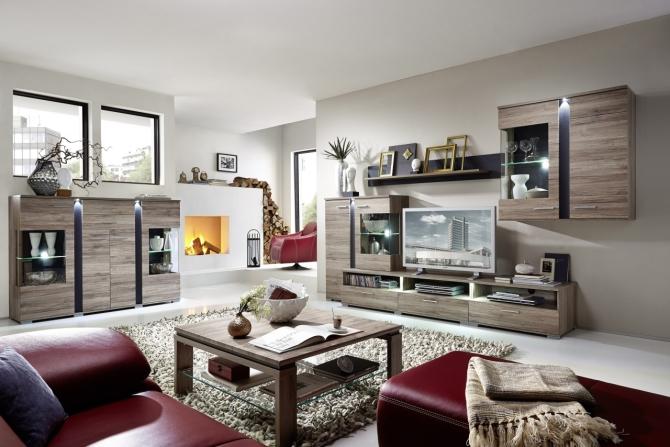 SPOT - obývacia stena + highboard