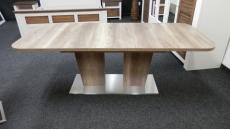 Jídelní rozkládací stůl TABLE DANCE B6 _dub Stirling_rozložený_obr. 1