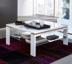 Konferenční stolek 29 11 WR 02_bílá MDF_částečně balkánský dub MDF